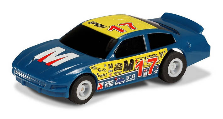 Micro US Stock Car - Blue 17 (G2157)