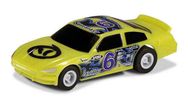 Micro US Stock Car - Green 6 (G2158)