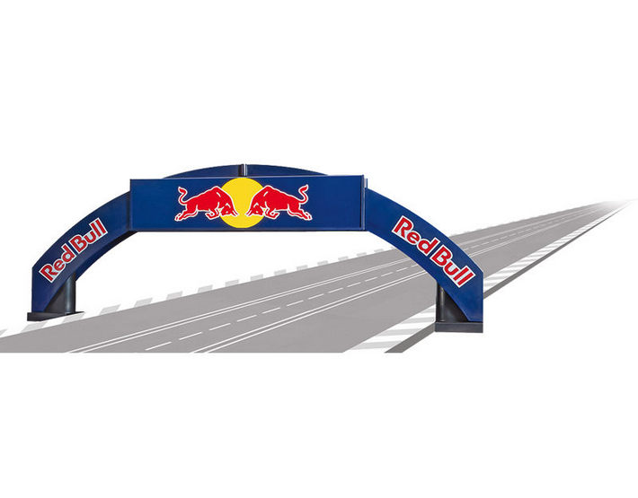 Carrera - Rennbogen Red Bull (21125)