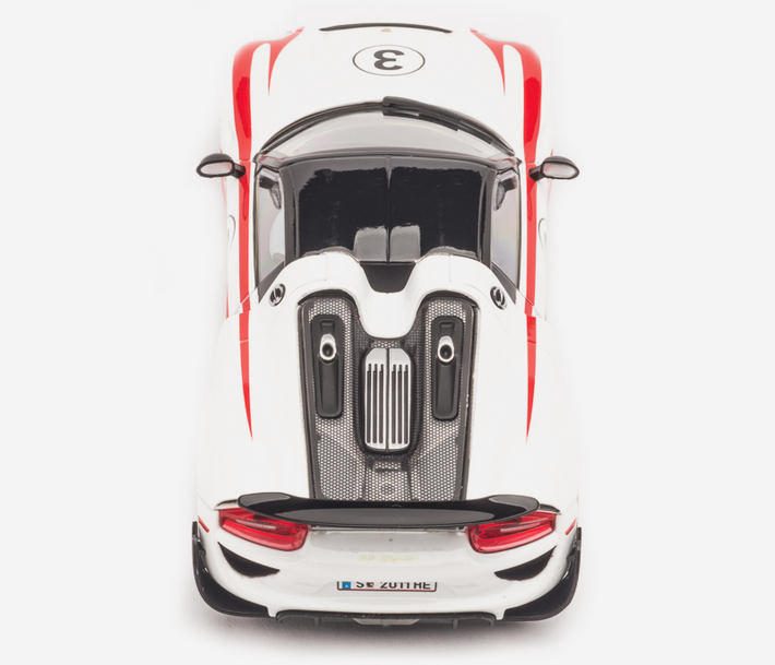 Carrera Digital 132 – Porsche 918 Spyder No.03 (30711) Heck