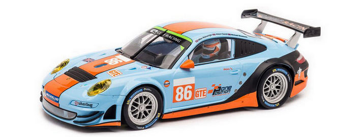 Carrera Digital 124 - Porsche GT3 RSR Gulf Racing No.86 (23810)