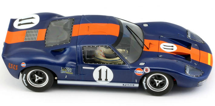 Slot.it - Ford GT40 Gulf 1967 Winner (CA18d) oben