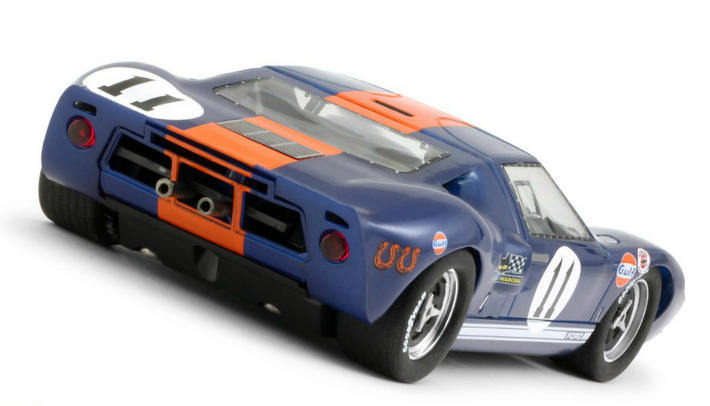 Slot.it - Ford GT40 Gulf 1967 Winner (CA18d) hinten