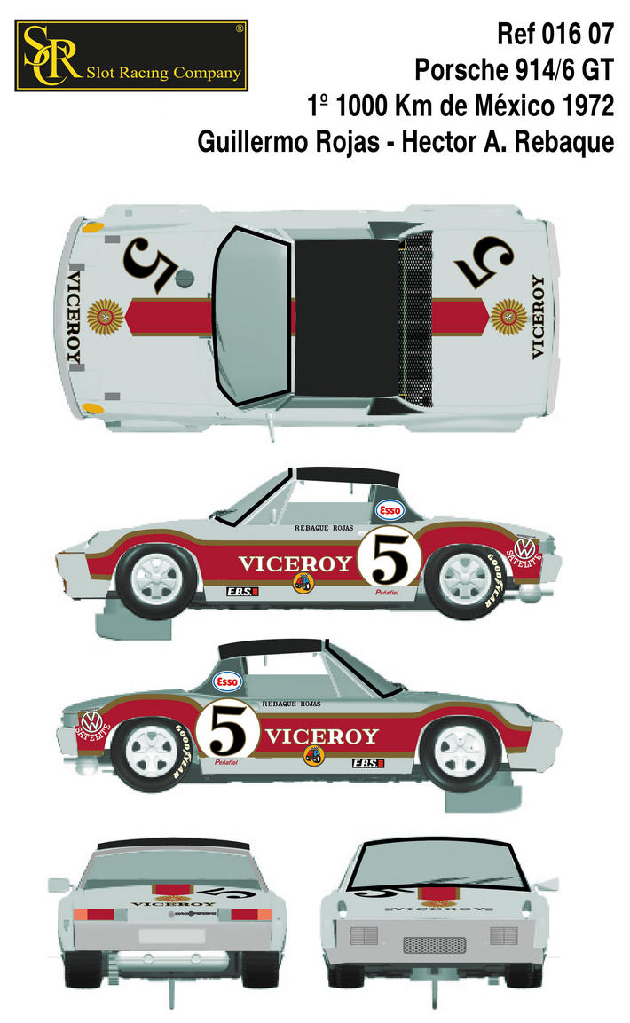 Porsche 914/6 GT - 24H Le Mans 1970 Collage