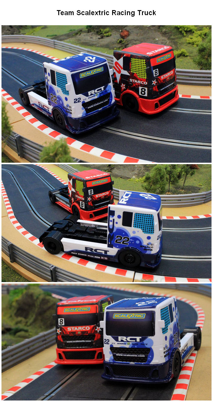 Team Scalextric Racing Trucks Kollage