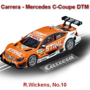 Carrera - Mercedes C-Coupe DTM R.Wickens, No.10