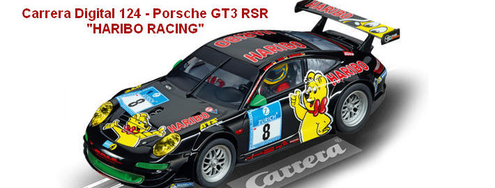 "Carrera Digital 124 - Porsche GT3 RSR ""HARIBO RACING"" (23809)"