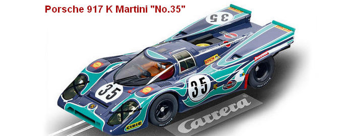 "Carrera Digital 124 - Porsche 917 K Martini International ""No.35"", Watkins Glen 6h 1970"