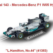 "Carrera Digital 143 - Mercedes-Benz F1 W05 Hybrid ""L.Hamilton, No.44"" (41383)"