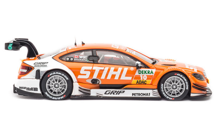 Mercedes C-Coupe DTM Wickens - seitlich