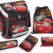 Scooli Schulranzen Set Campus Plus Disney Cars 5 Teilig