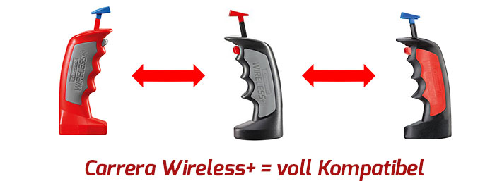 Wireless+ Controller sind voll kompatibel