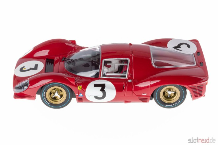 "Carrera Digital 124 - Ferrari 330P4 ""No.03"", Monza 1967 (23814) Flach links"