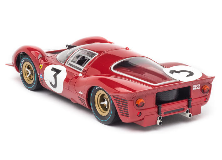 "Carrera Digital 124 - Ferrari 330 P4 ""No.03"", Monza 1967 (23814) hinten"