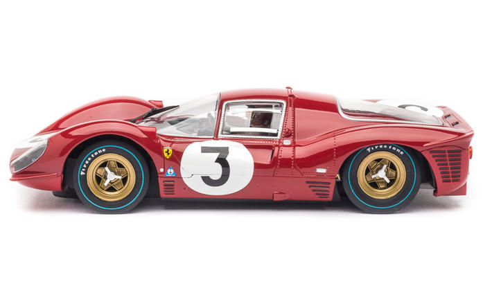 "Carrera Digital 124 - Ferrari 330 P4 ""No.03"", Monza 1967 (23814) seitlich"