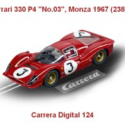 "Carrera Digital 124 - Ferrari 330 P4 ""No.03"", Monza 1967 (23814)"