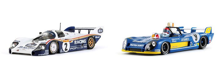 Slot.it - Porsche 956 (CA09g) & Matra-Simca MS 670B (CA09g)