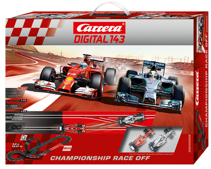 Carrera Digital 143 - Championship Race Off (40028)