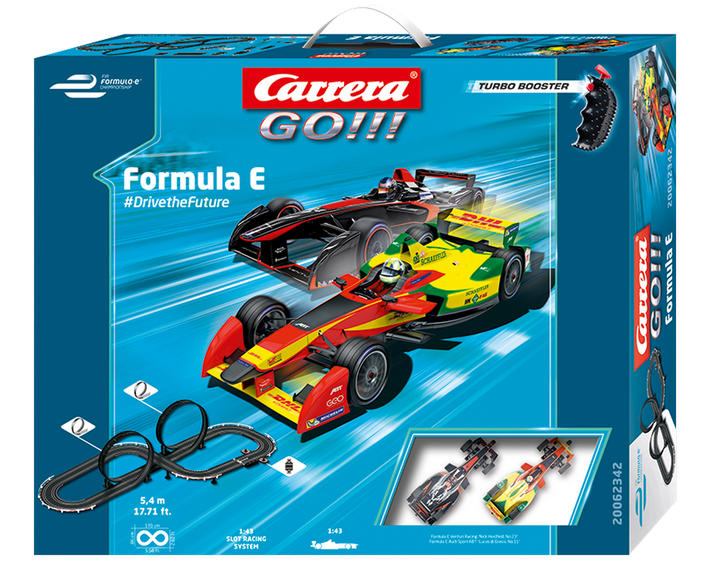 Carrera Go!!! - Formula E #Drive The Future (62342)