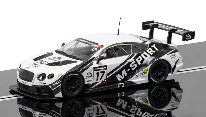 Scalextric - Scalextric - Bentley Continental GT3 #17 (C3595)