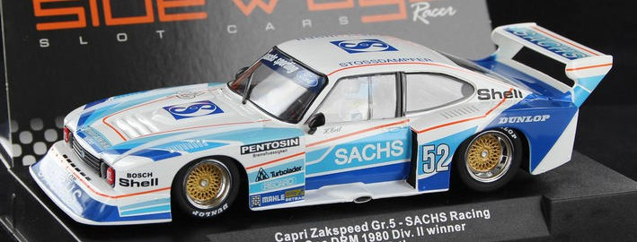 Sideways by Racer - Ford Capri Zakspeed Gr.5 SACHS Racing (SW36)