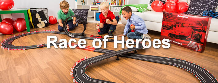 Carrera Digital 143 - Race of Heroes (90909
