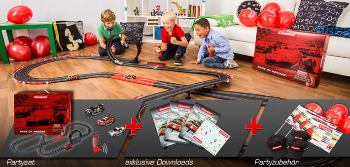 Carrera Digital 143 - Race of Heroes (90909) Kinderpartyset