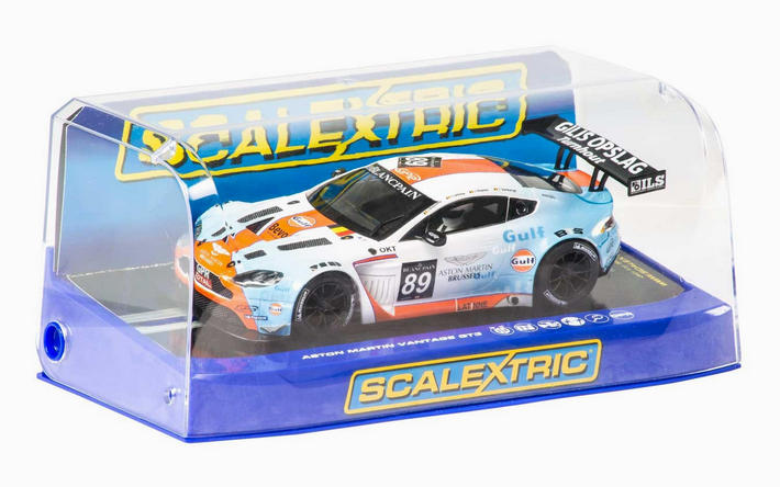 Scalextric - Aston Martin Vantage GT3 Gulf (C3622) - Display