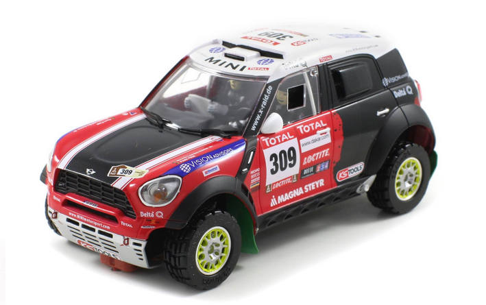 Scaleauto - Mini All4 Racing Dakar 2012 #309 (SC-6111)
