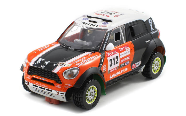 Scaleauto - Mini All4 Racing Dakar 2012 #312 (SC-6112)