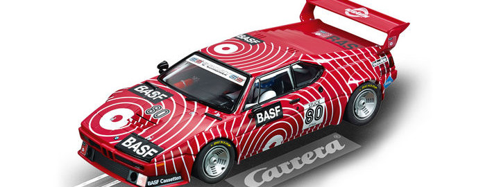 "Carrera Digital 124 - BMW M1 Procar ""BASF No.80"", 1980 (23821)"