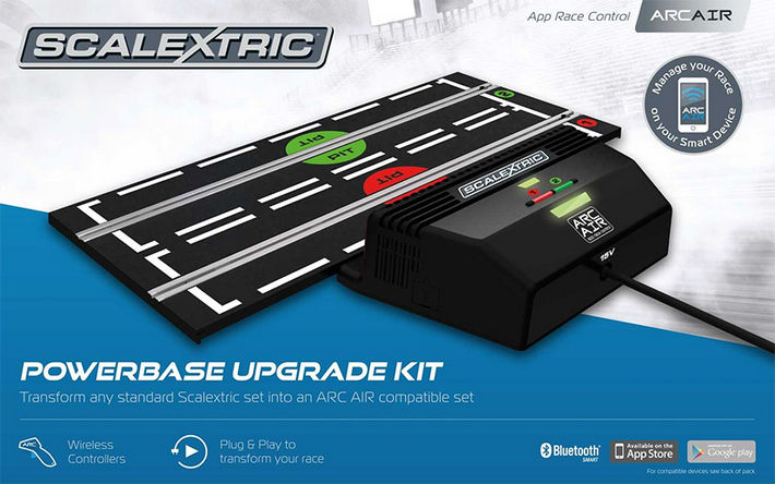Scalextric - ARC Air Powerbase Upgrade Kit (C8434)