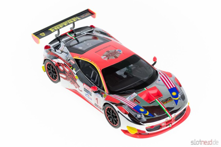 Carrera DIGITAL 124 - Ferrari 458 GT3 Clearwater Racing No.1 (23822)