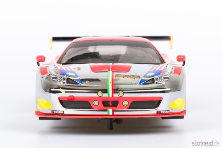 Carrera DIGITAL 124 - Ferrari 458 GT3 Clearwater Racing No.1 (23822) Front