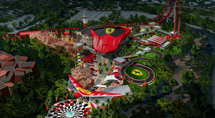 Ferrari Land in PortAventura World