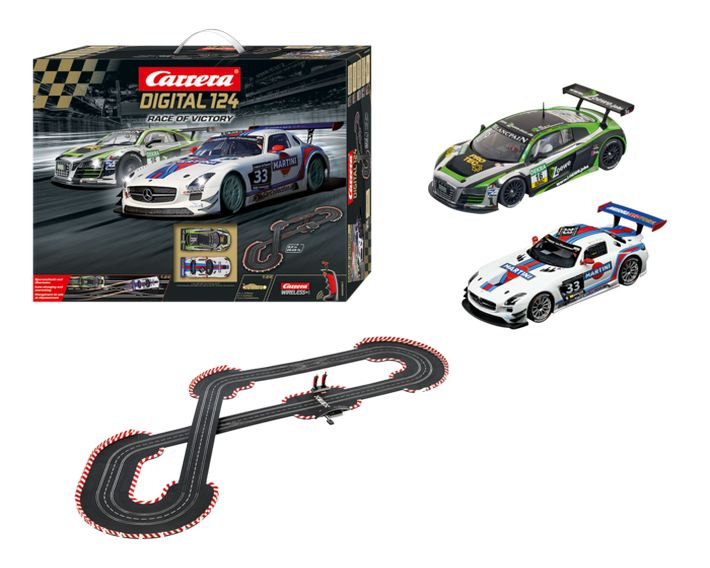 Carrera Digital 124 - Race of Victory Set (23621) Der Inhalt